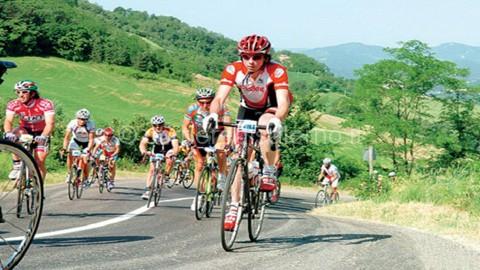 atleti gara ciclistica