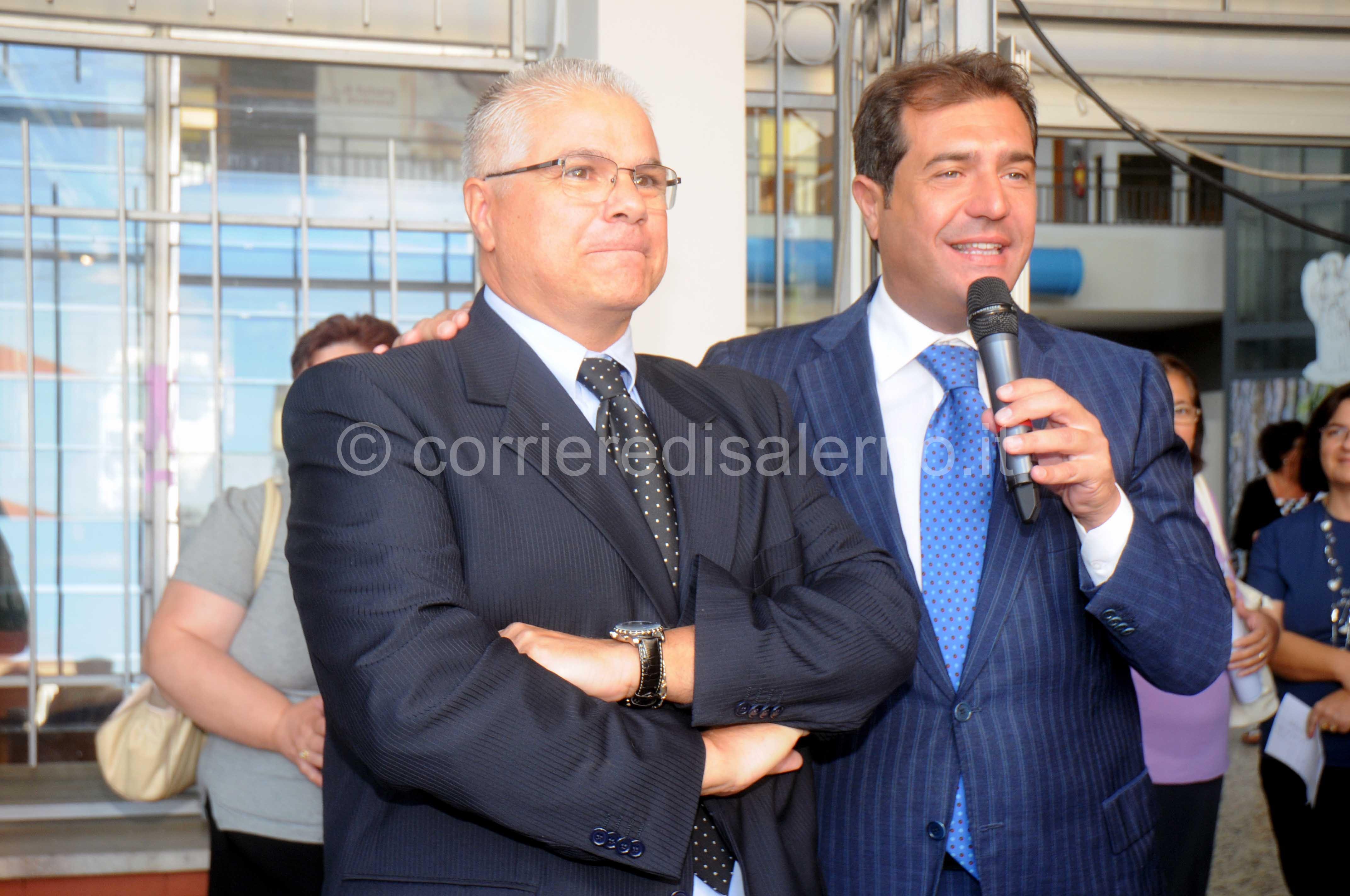 foto picentia sindaco Sica con dirigente Morriale