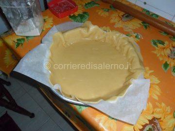 tortiera con crema
