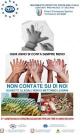 2^ CAMPAGNA DI SENSIBILIZZAZIONE CONTRO I BOTTI ILLEGALI