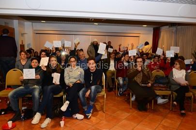 Carpedil Salerno Basket foto di gruppo