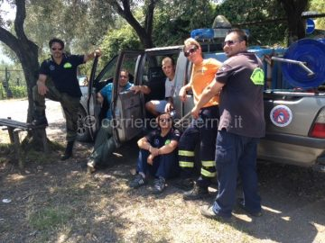 I volontari della Protezione Civile di Pellezzano
