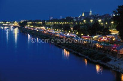 Varsavia di notte
