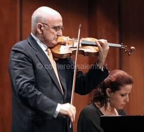 duo dei maestri Salvatore Accardo e Laura Manzini