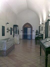 galleria d'ingresso museo dell'agro nocerino