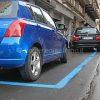 Via Quintino Sella strisce blu per parcheggio a pagamento