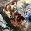 S. Anna , s. Gioacchino e la Vergine accolti in paradiso