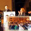Alfonso Berritto e le candidate della lista Uniti per Pellezzano