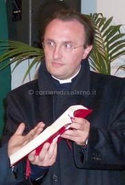 Don Vito Granozio parroco di Pellezzano-Capriglia