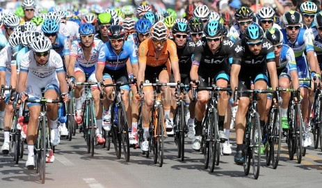 CYCLING: GIRO D'ITALIA, STAGE ONE