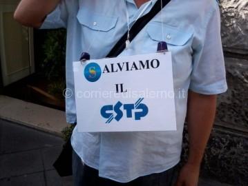Protesta Cstp stazione 3-2
