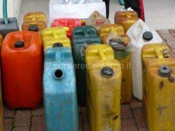 taniche di gasolio