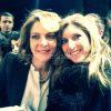 L'inviata del Corriere di Salerno, Raissa Pergola, con Claudia Gerini
