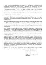 albanella comunicato