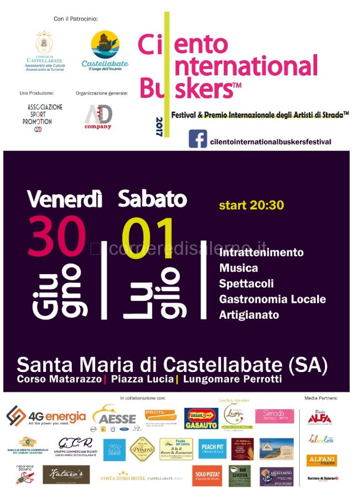 Cilento International Buskers Festival