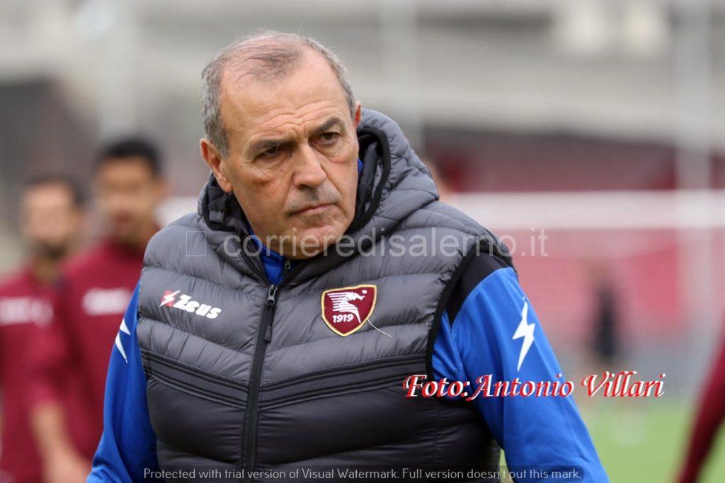 Castori allenatore Salernitana