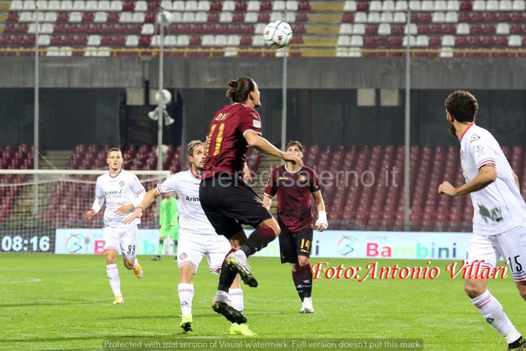 Djuric in attacco