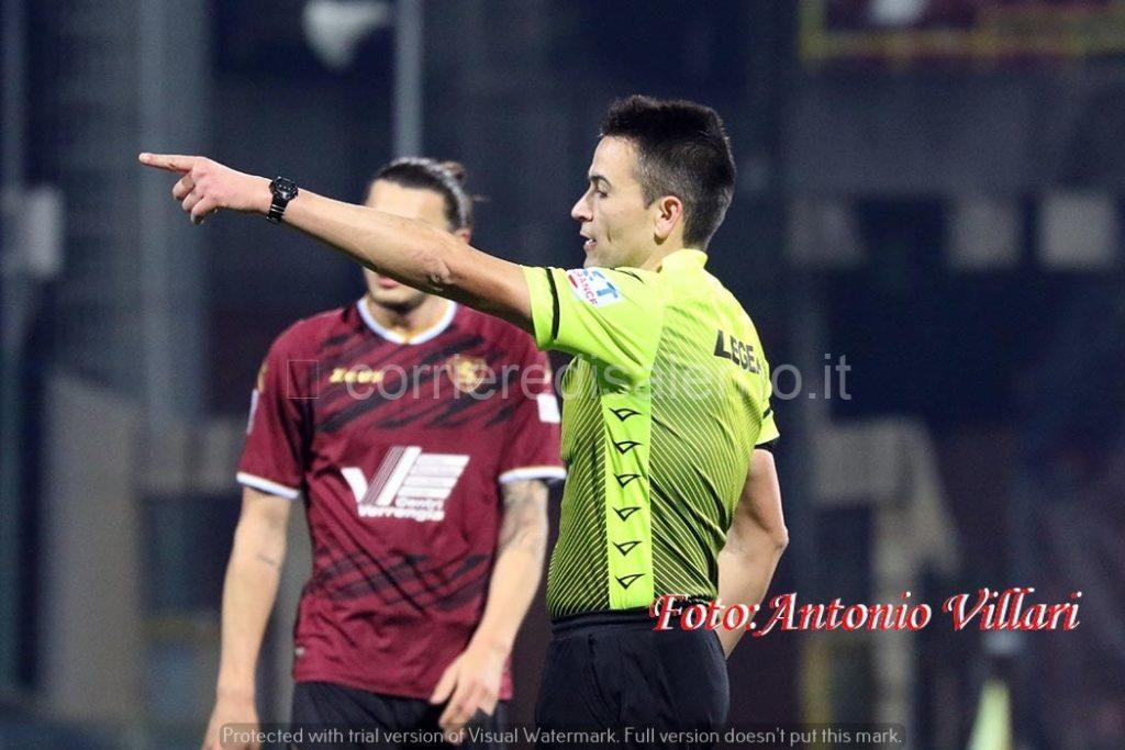 Arbitro Rapuano espelle Capezzi